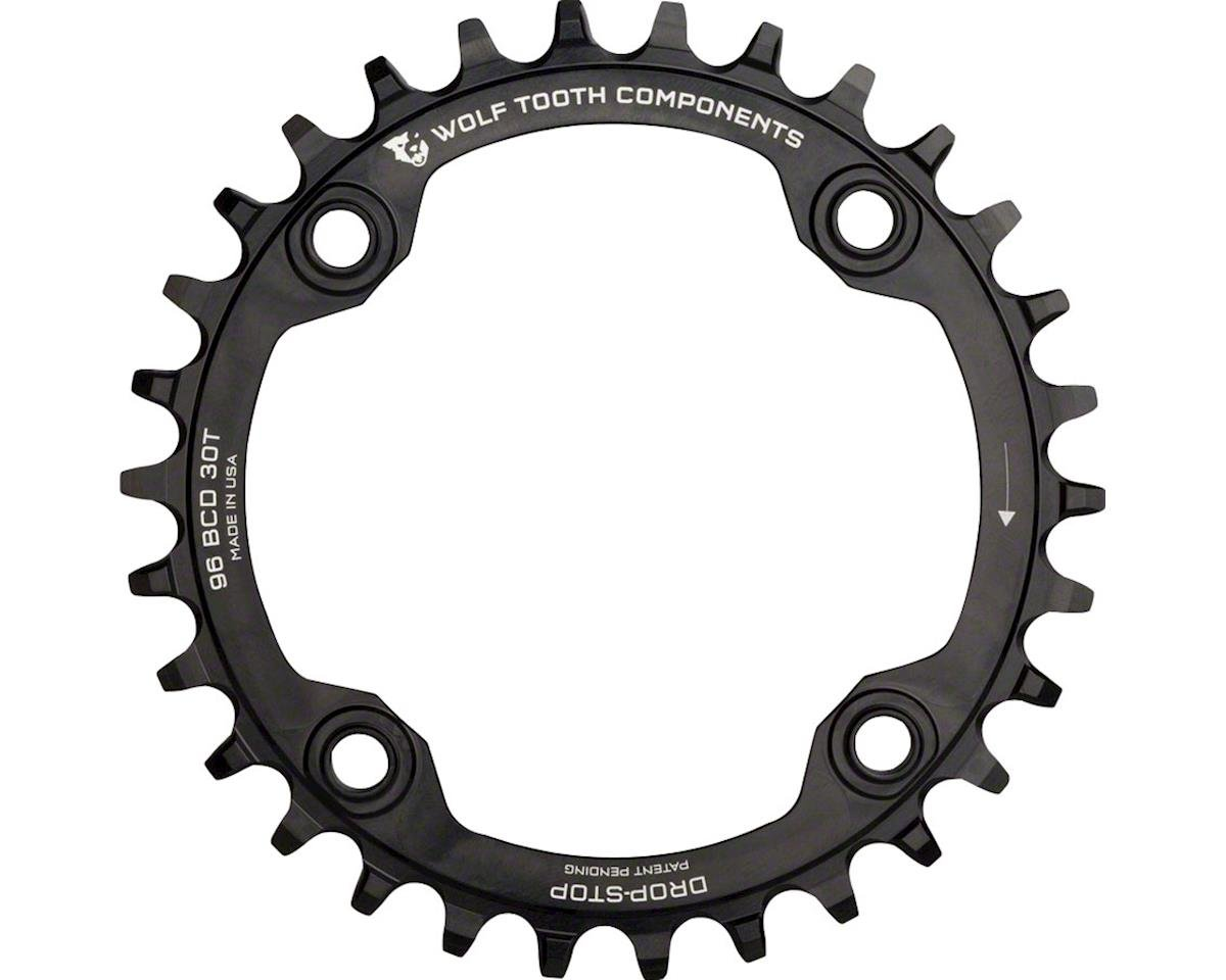 Wolf Tooth Components Drop-Stop Chainring (Black) (34T)