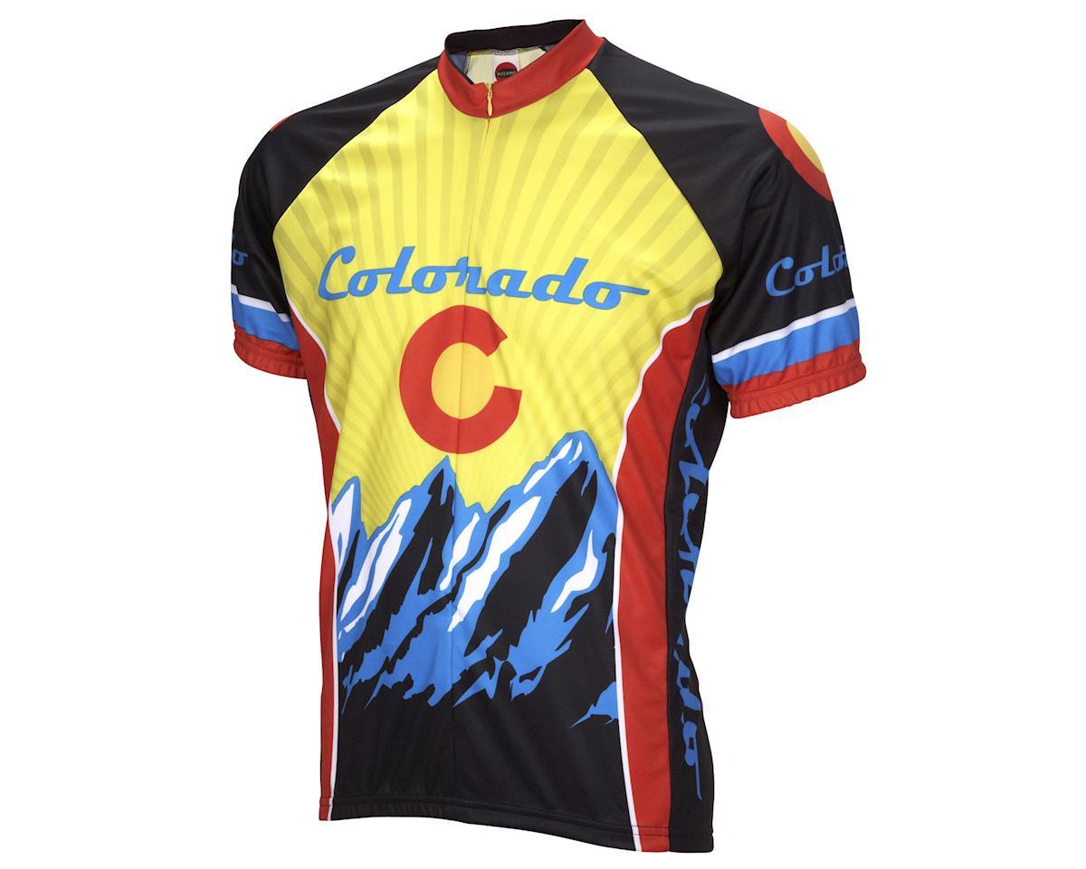 World Jerseys Colorado Short Sleeve Jersey (Yellow)