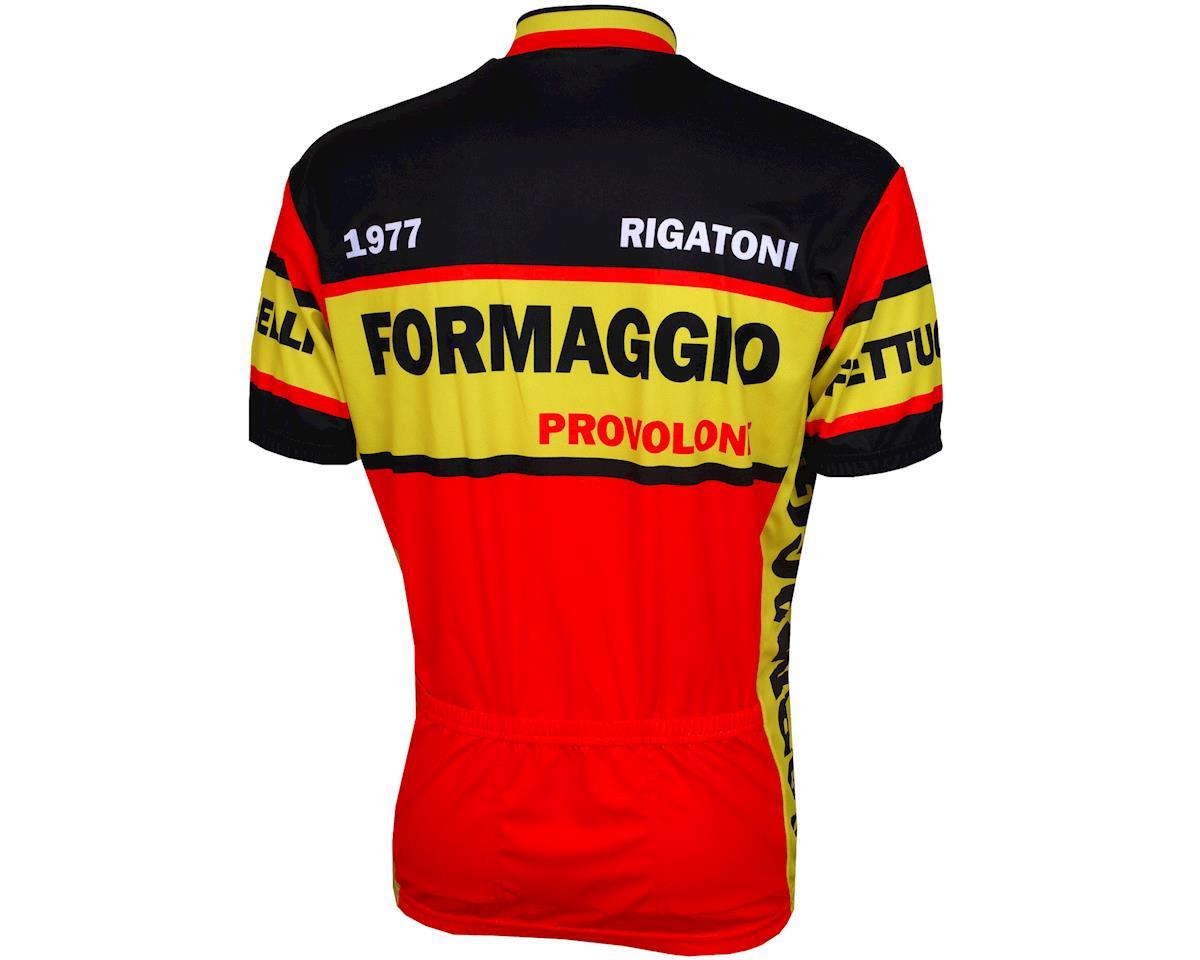 World Jerseys Formaggio 1977 Short Sleeve Jersey (Black/Red)