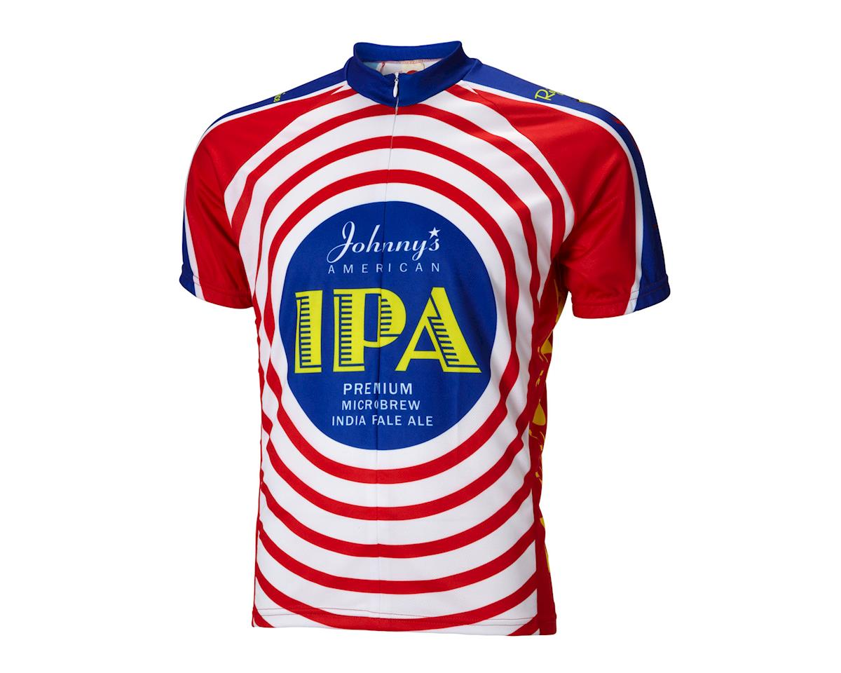 World Jerseys Moab Brewery Johnny's IPA Short Sleeve Jersey (Red/White/Blue)