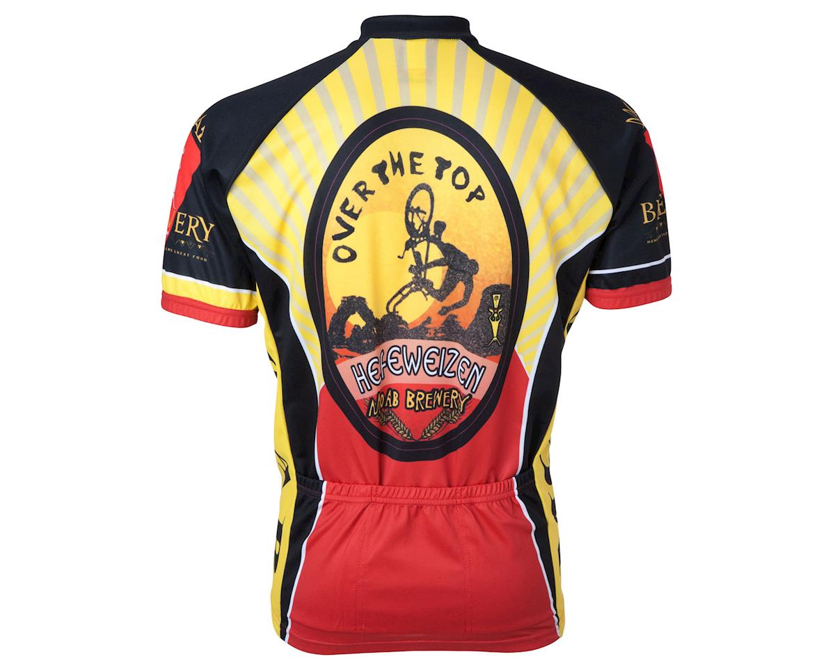 World Jerseys Moab Brewery Over The Top Short Sleeve Jersey (Yellow)