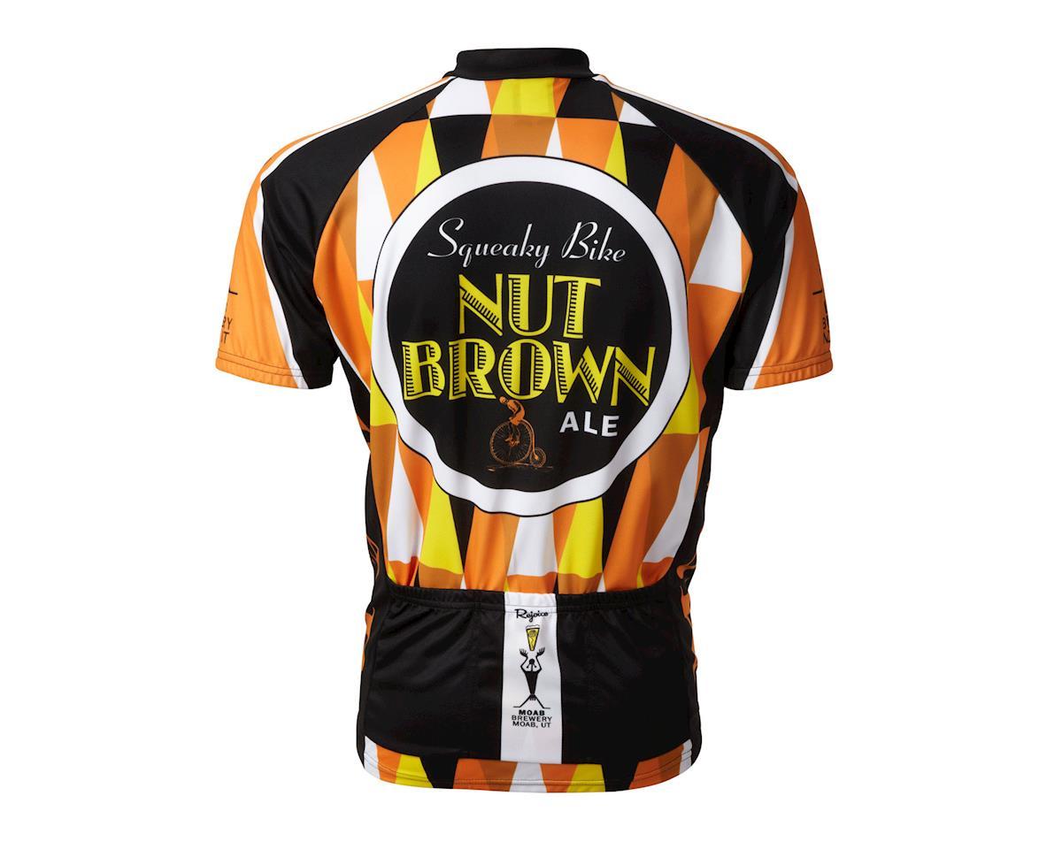 World Jerseys Moab Brewery Squeaky Bike Short Sleeve Jersey (Black/Orange)