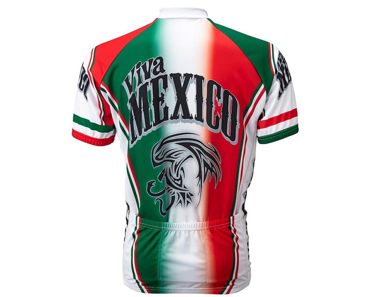 World Jerseys Viva Mexico Short Sleeve Jersey (Red/White/Green)