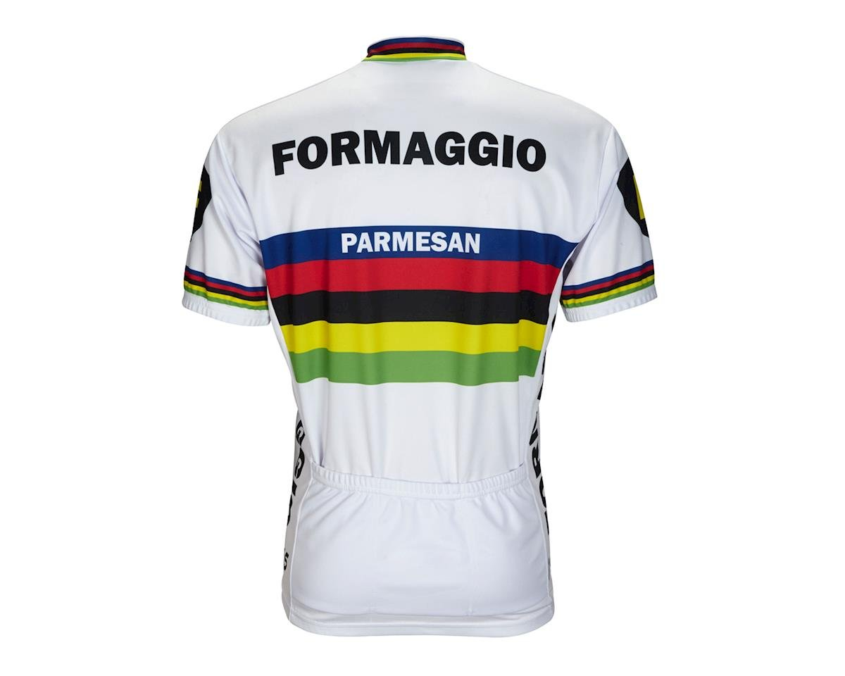 World Jerseys Formaggio 1965 World Champ Short Sleeve Jersey (White)