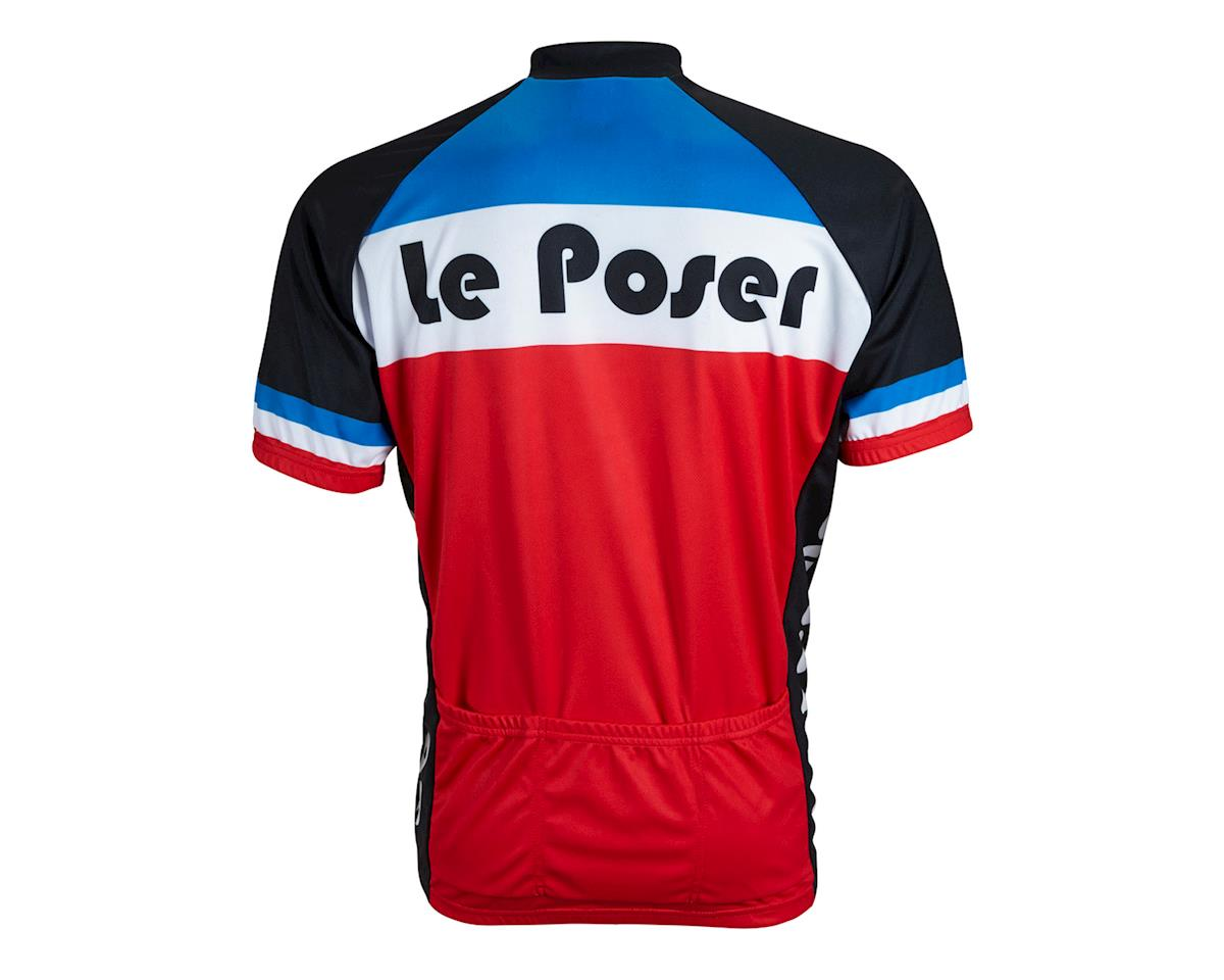 World Jerseys Le Poser Short Sleeve Jersey (Red/White/Blue)
