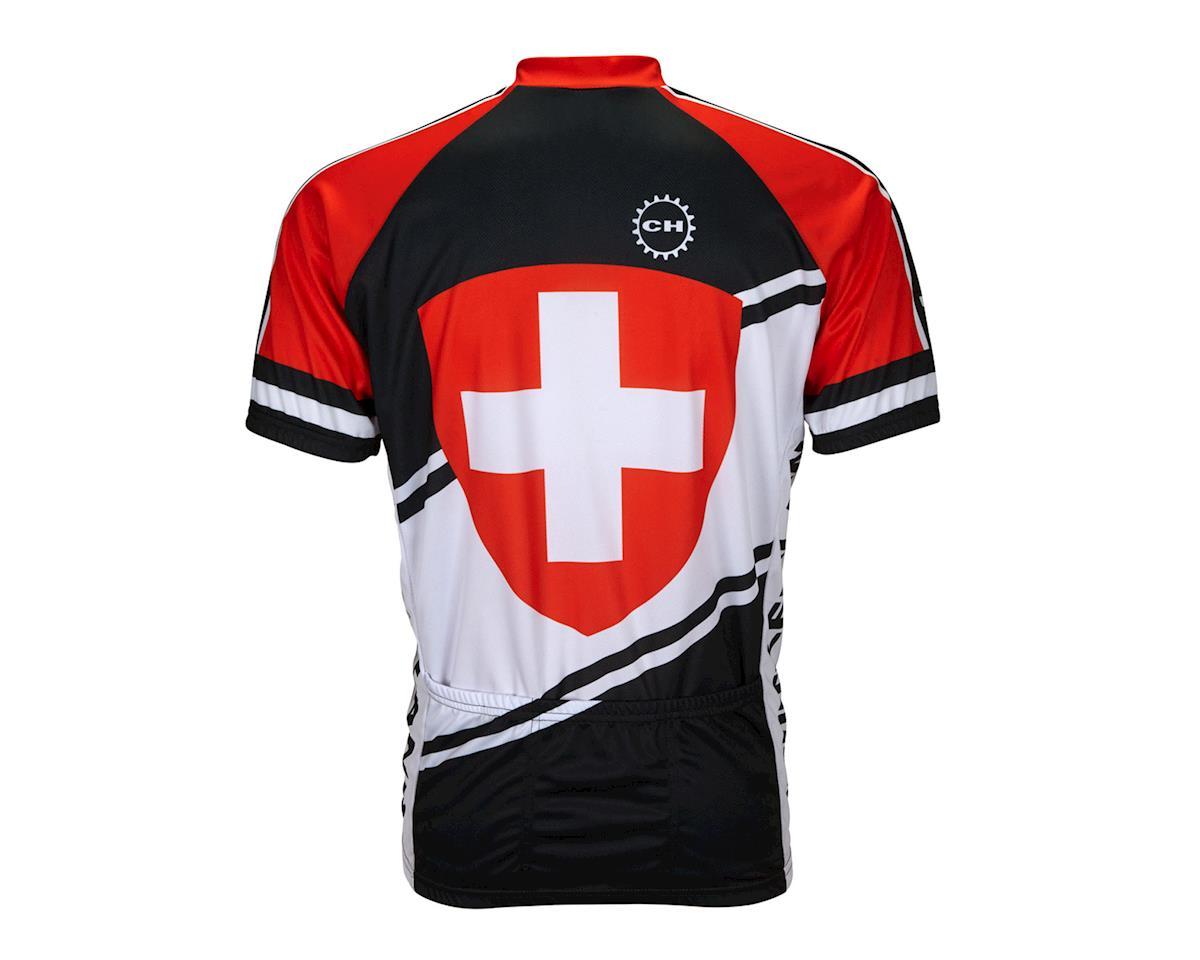 World Jerseys Switzerland Short Sleeve Jersey (Black/Red/White)