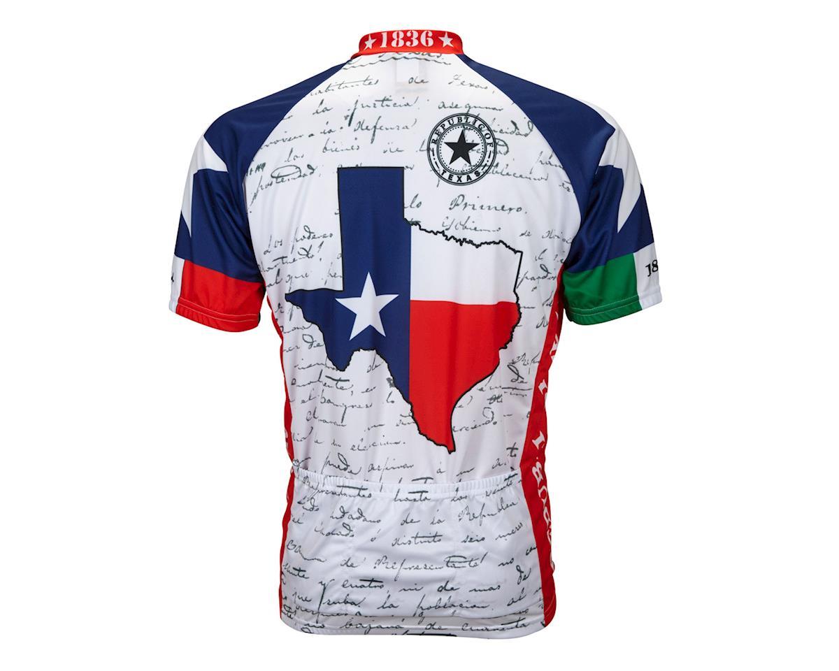 World Jerseys Texas Short Sleeve Jersey (Red/White/Blue)