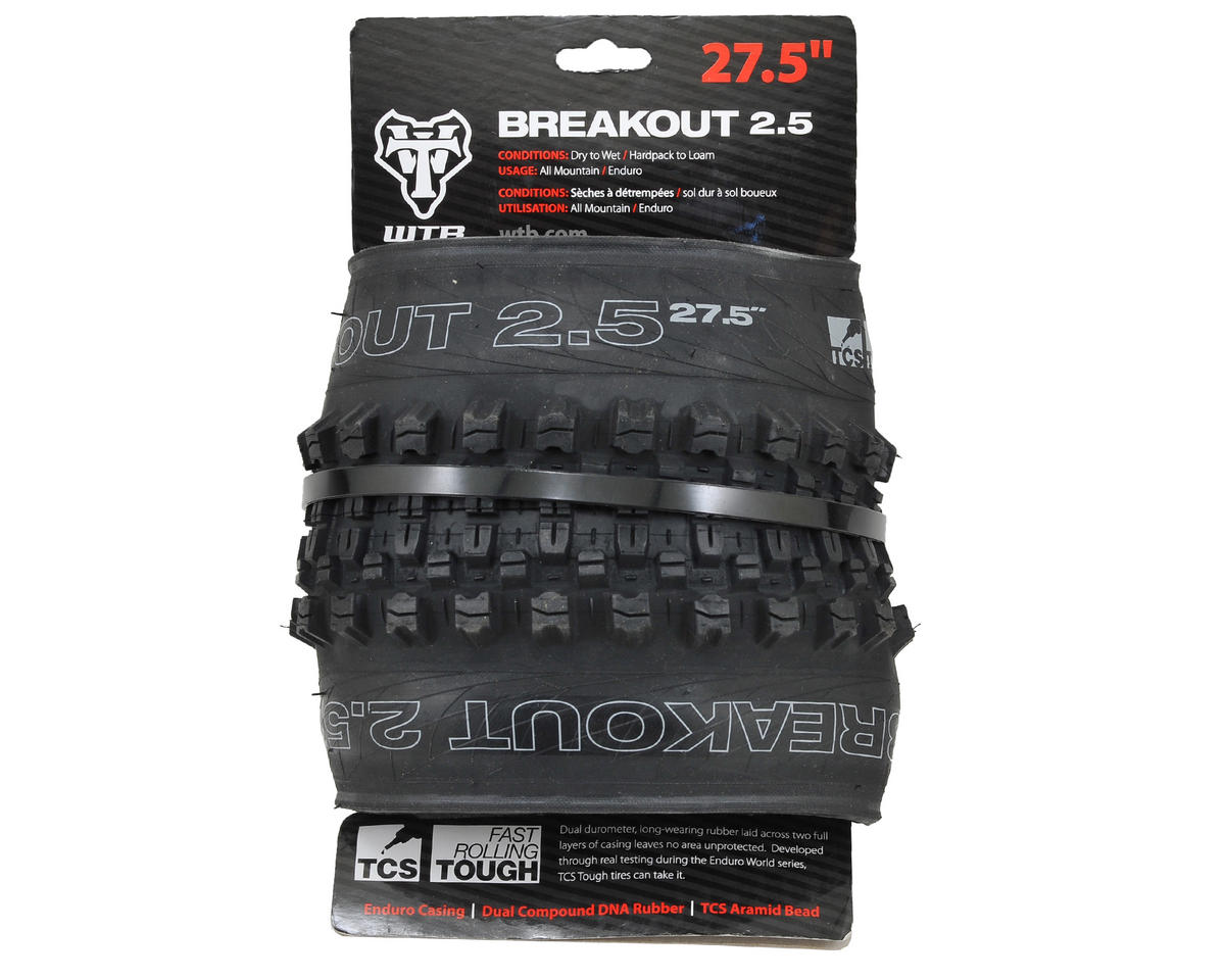 "WTB Breakout 27.5"" TCS Tough Tubeless Tire (Fast Rolling) (27.5 x 2.5)"