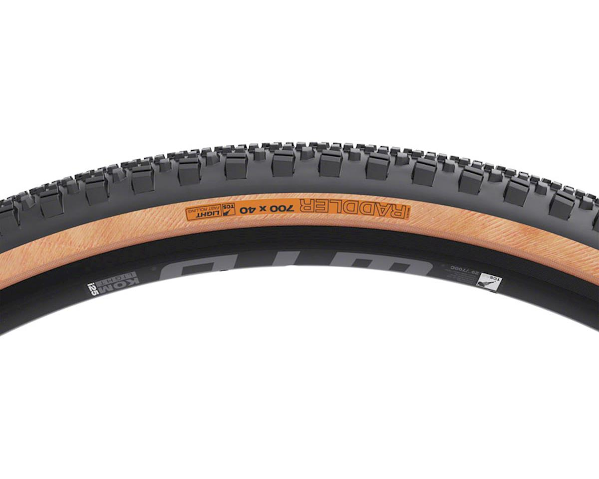 Image 2 for WTB Raddler Dual DNA Gravel Tire (Tanwall) (TCS Light/Fast Rolling) (700 x 40)