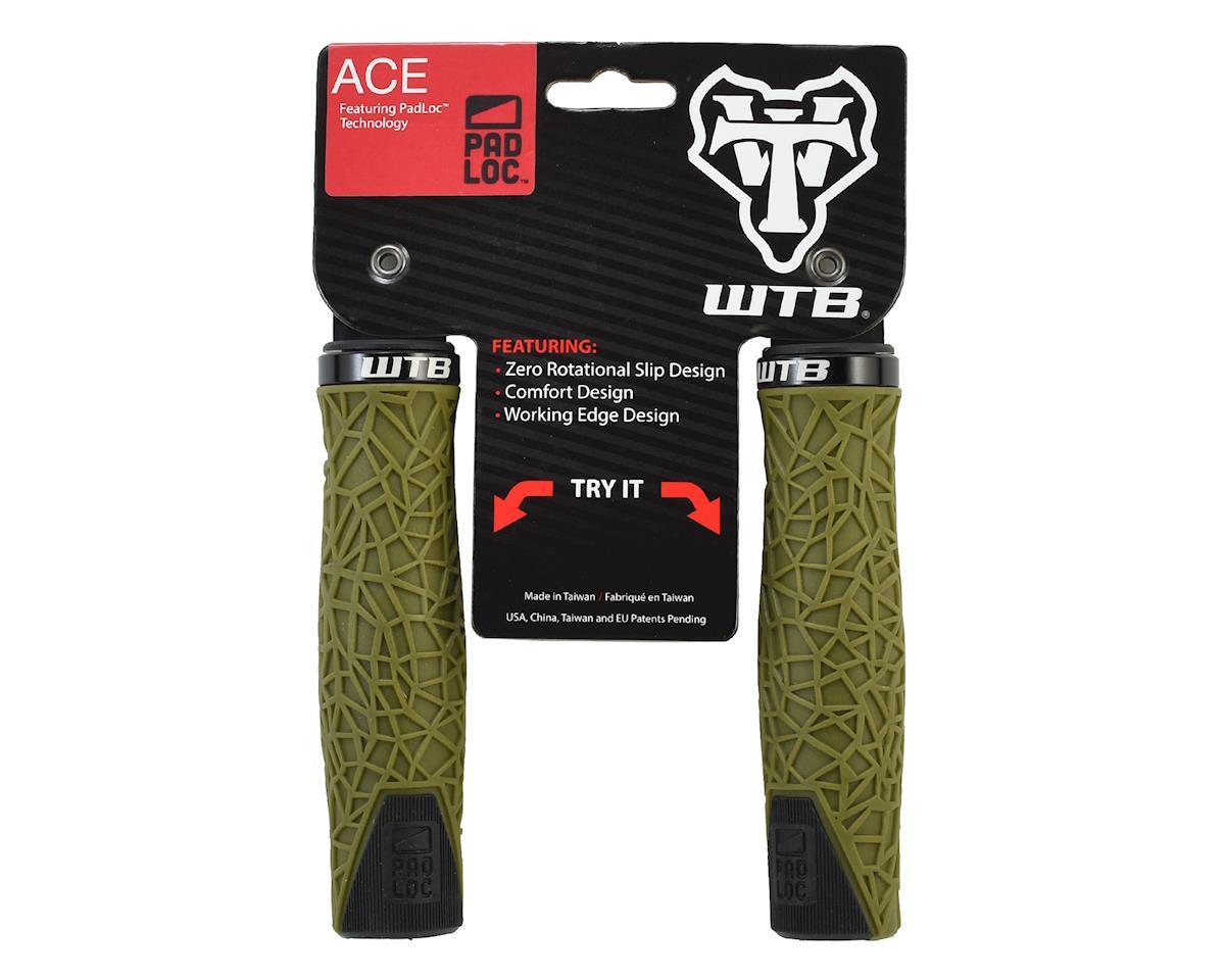 WTB Ace Padloc Bulged Grips (Green/Black)