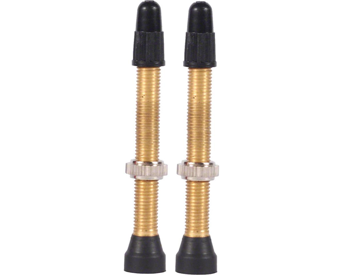 WTB Brass TCS Valve (46mm) (Pair)