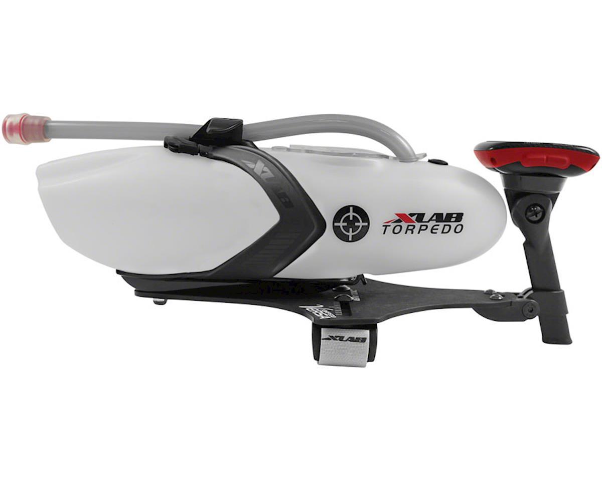 XLab Torpedo Versa 500 Carbon Aerobar Hydration System Red