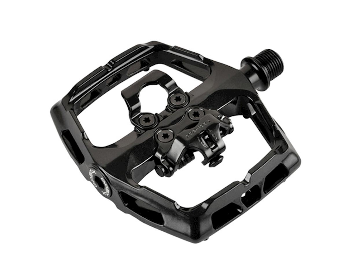 Xpedo Ambix Platform+Clipless Pedals, Black | relatedproducts