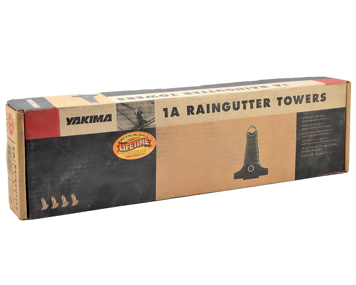 Yakima 1A Raingutter Load Bar Tower Set: 4-Pack