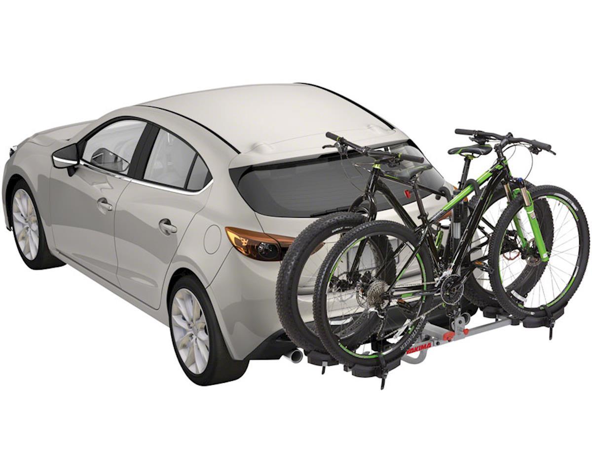 "Yakima TwoTimer Hitch Bike Rack - 2-Bike, 1-1/4"", 2"" Receiver, Silver"