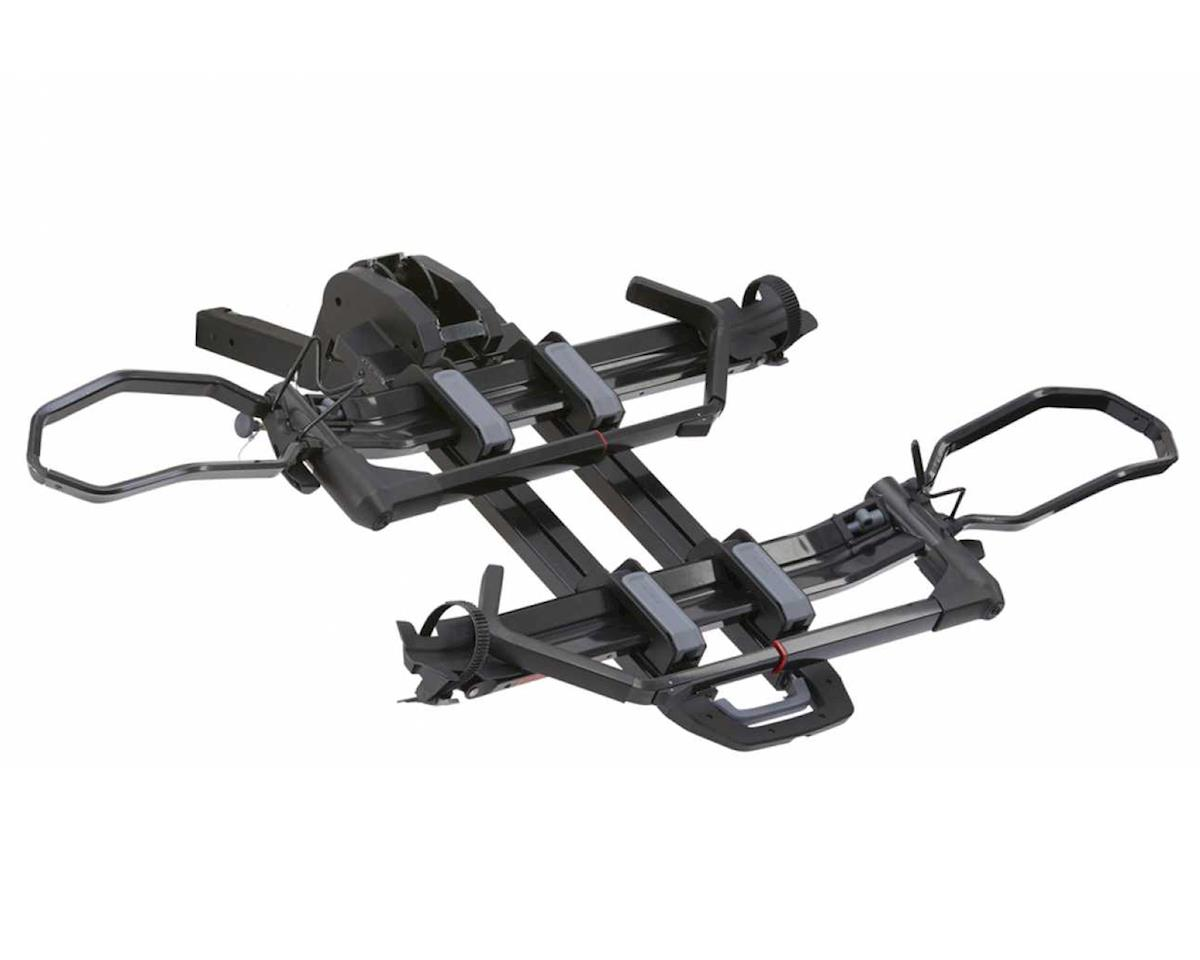 Yakima Dr Tray Hitch Mounted 2-Bike Rack (2'' Reciever) (Fat Bike Compatible)