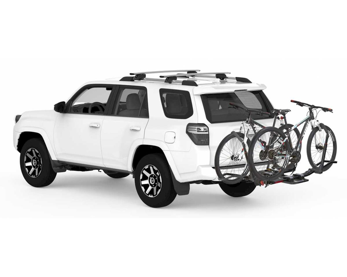 Yakima Dr Tray Hitch Mounted 2-Bike Rack (1.25'' Reciever) (Fat Bike Compatible)