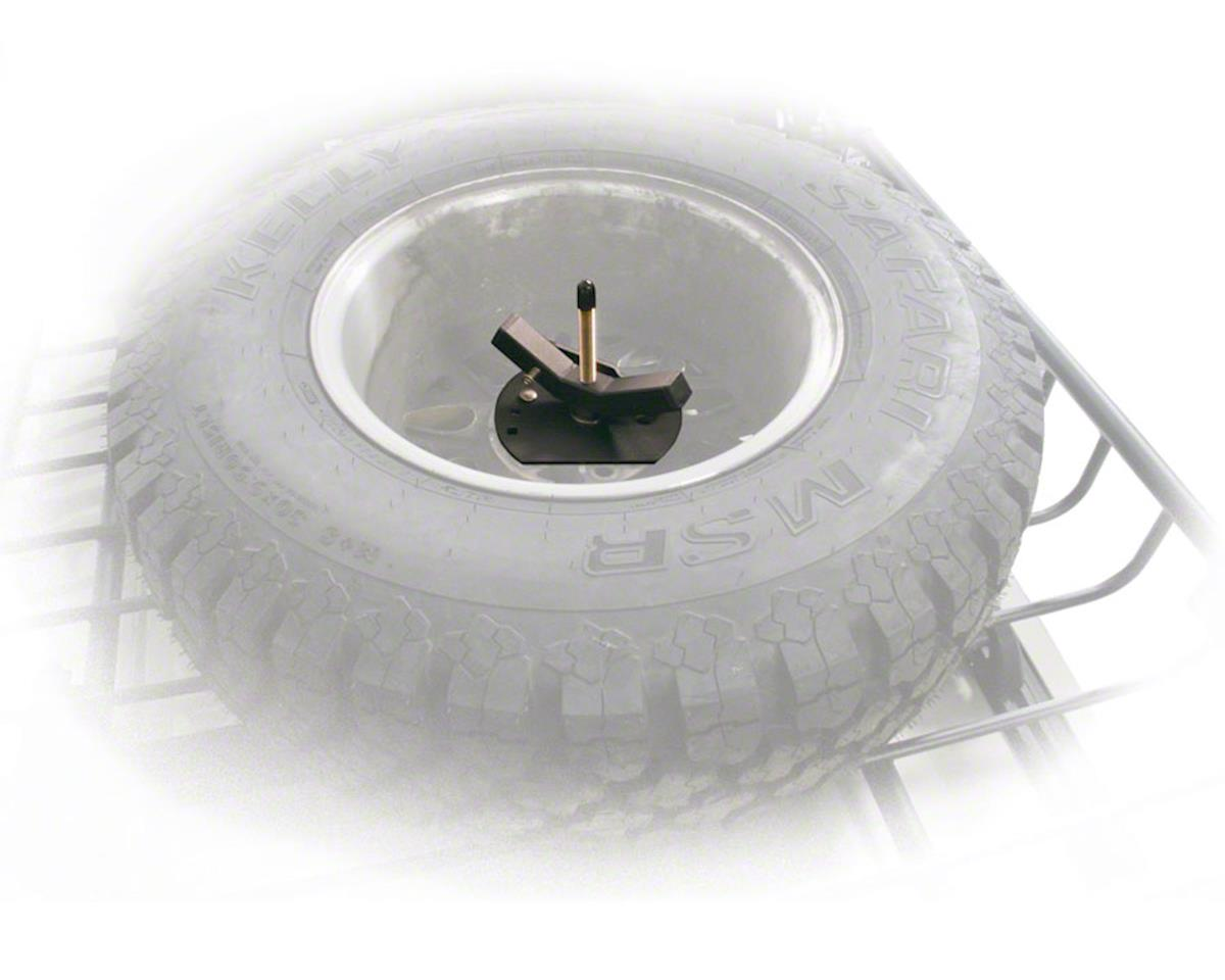 Spare Tire Carrier: Fits LoadWarrior and MegaWarrior Cargo Carriers