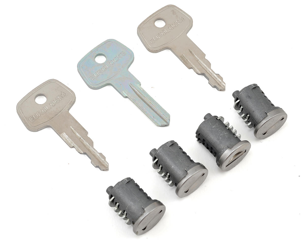 Yakima Sks Lock Core With Key 4 Pack 8007204