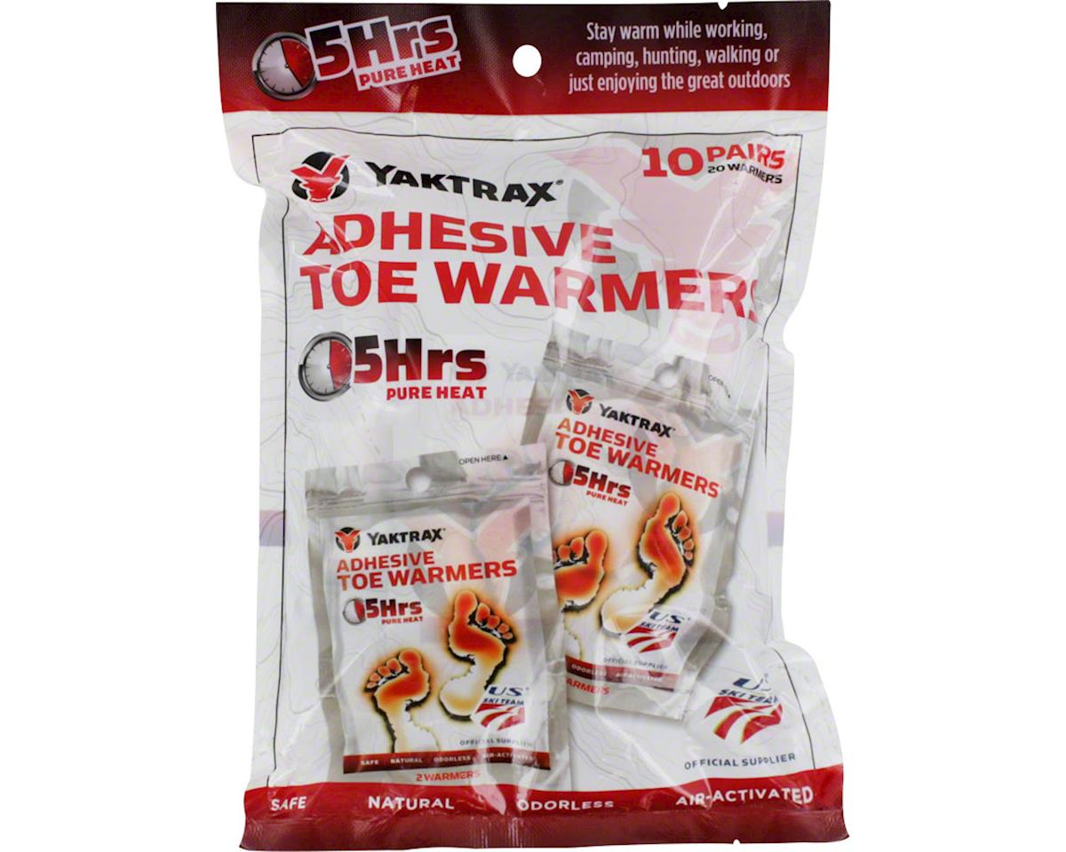 Yaktrax Warmers Toe Warmers: Pack of 10 Pair