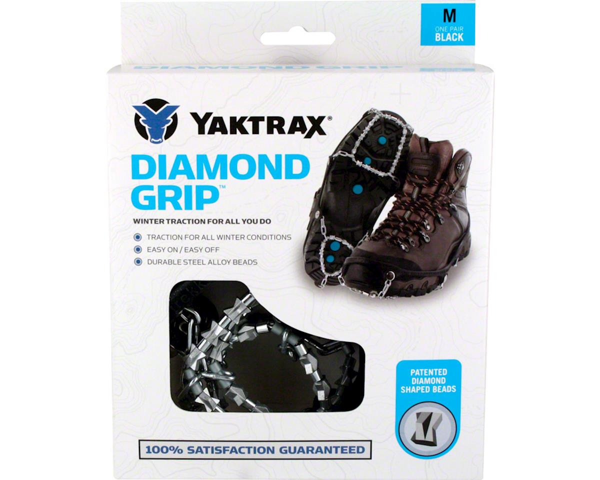 Yaktrax Diamond Grip Ice Traction Chains (L)