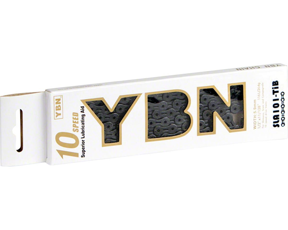 Ybn Ti-Nitride Black 10-speed Chain, 116 Links, 5.9mm Wide with One Reusable QRS