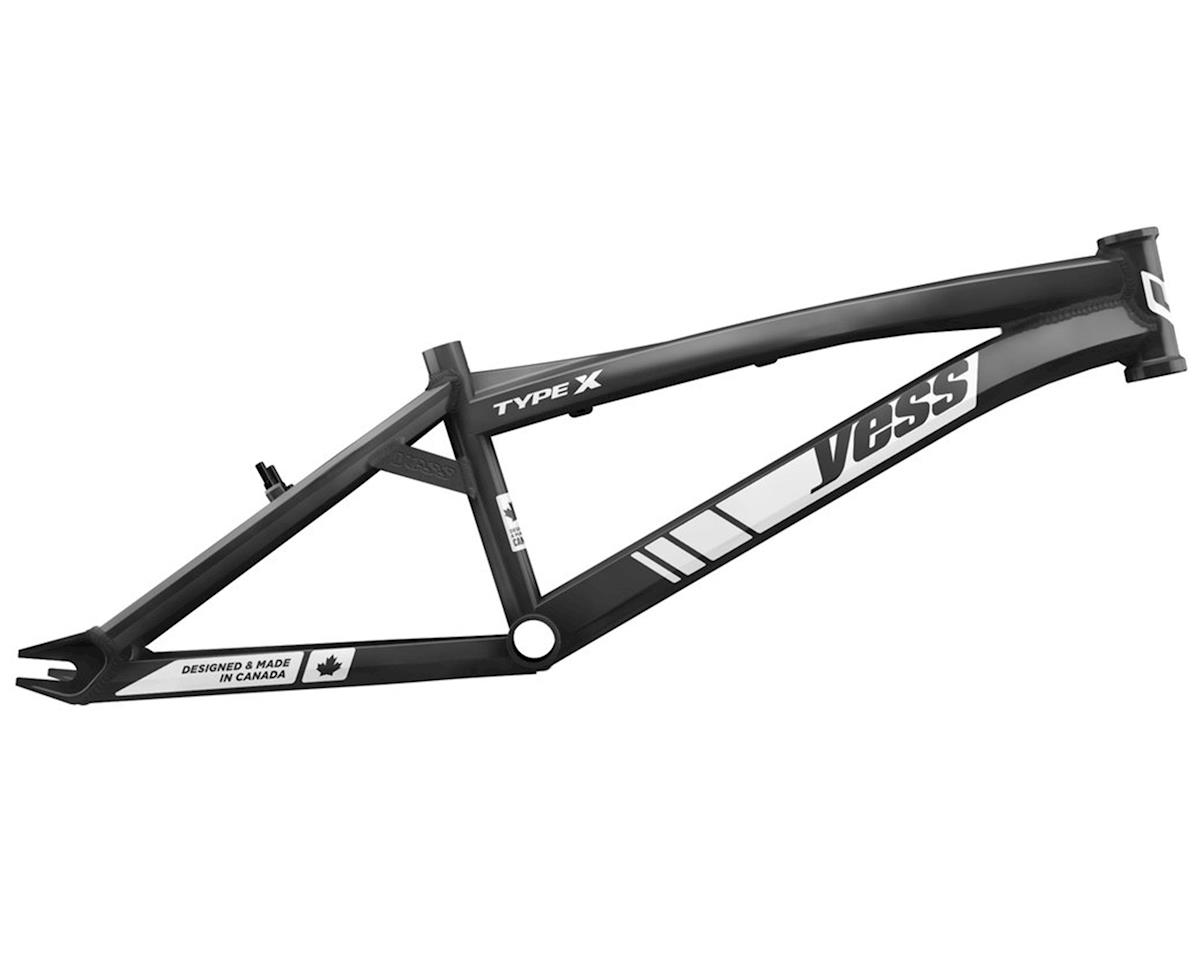 "YESS Type X 24"" Cruiser BMX Frame (Black)"