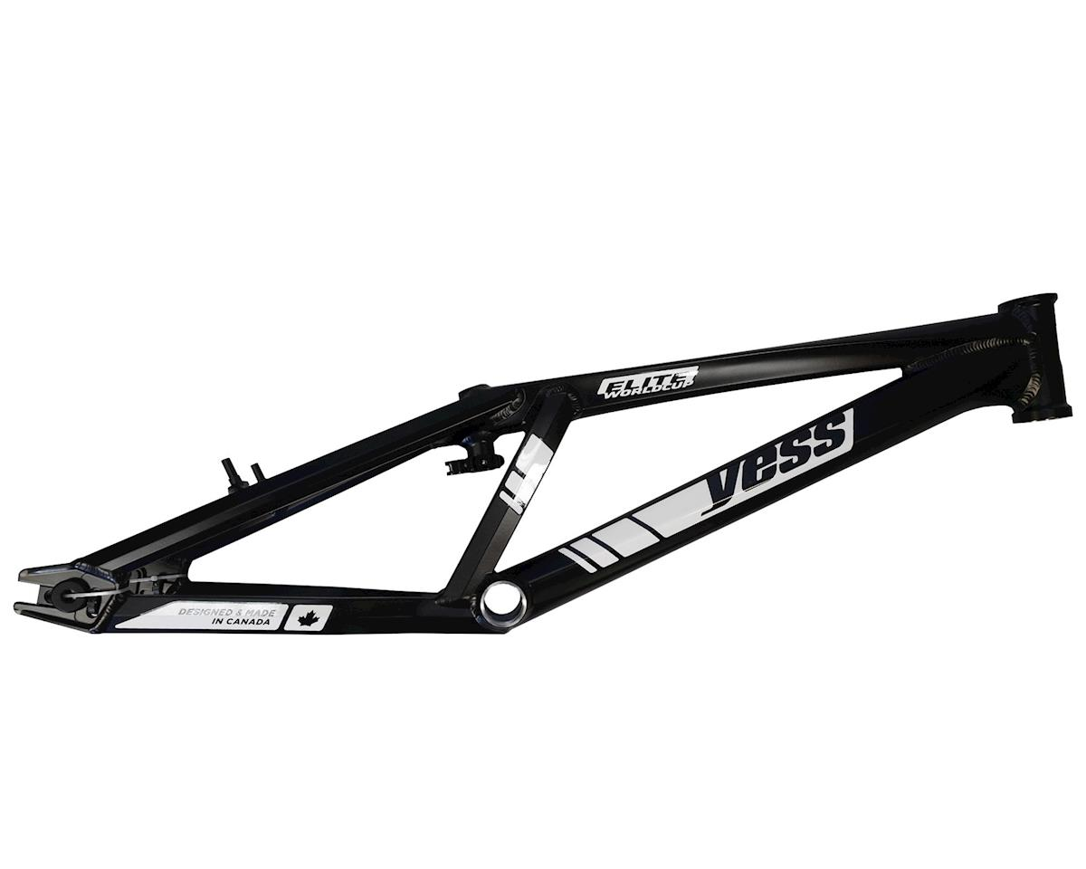 "YESS Elite Worldcup 20"" BMX Race Frame (Black)"