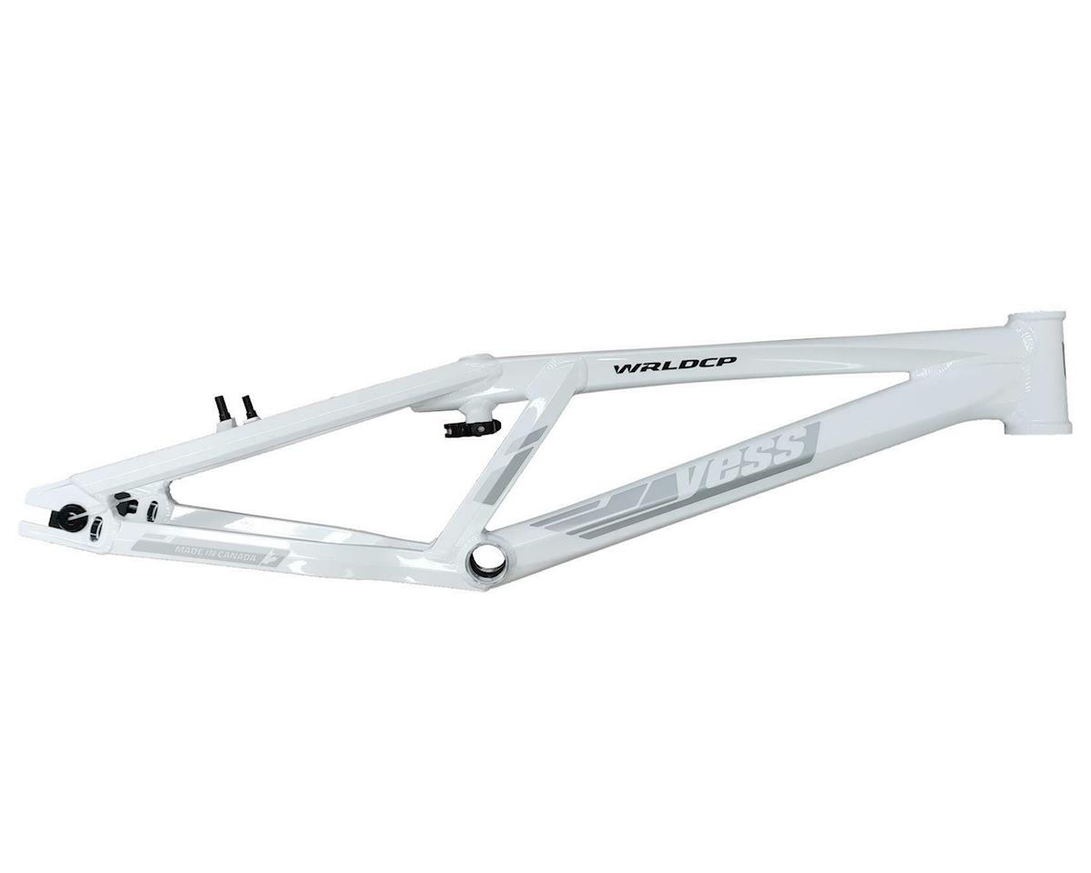"YESS Elite Worldcup 20"" BMX Race Frame (White)"