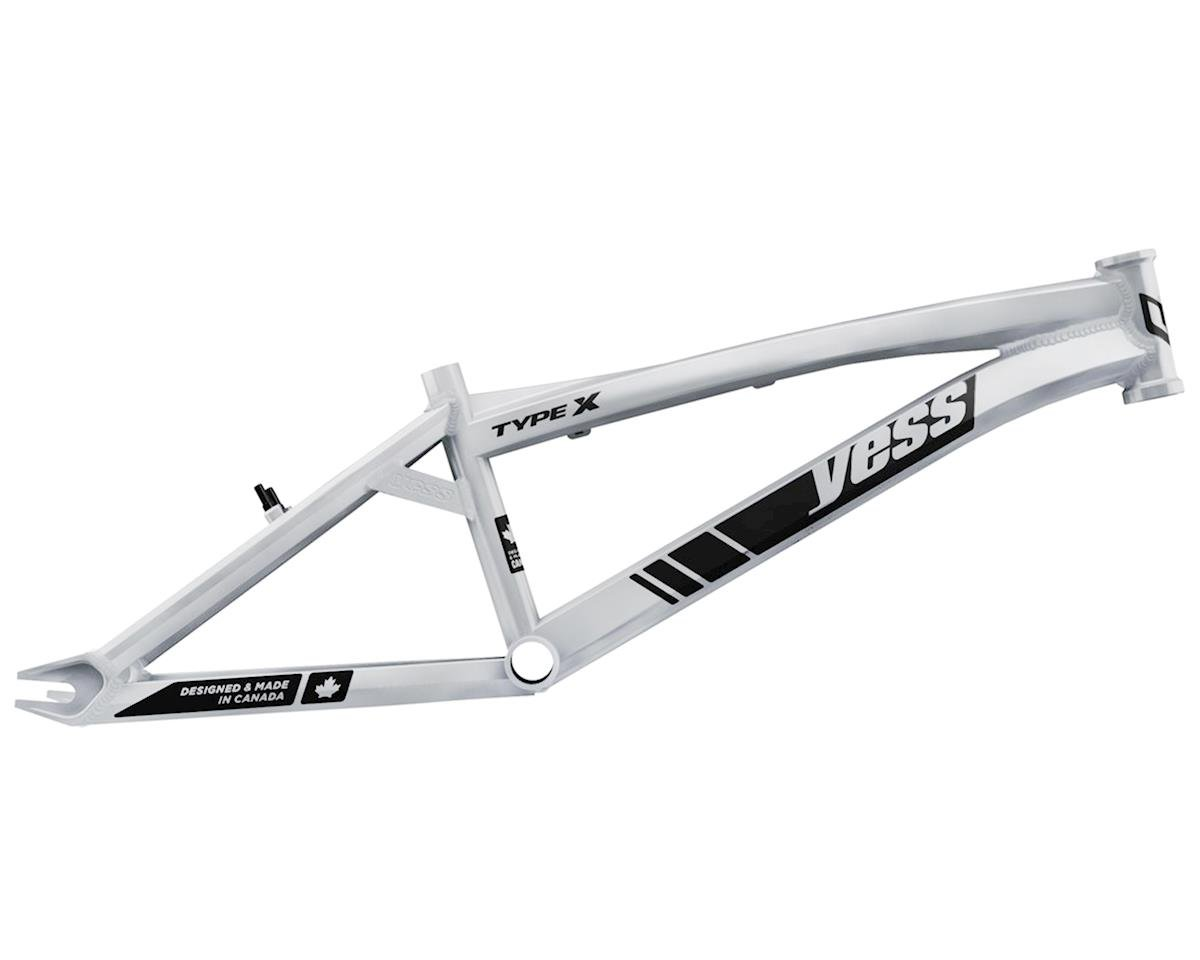 "YESS Type X 20"" Mini BMX Frame (White)"