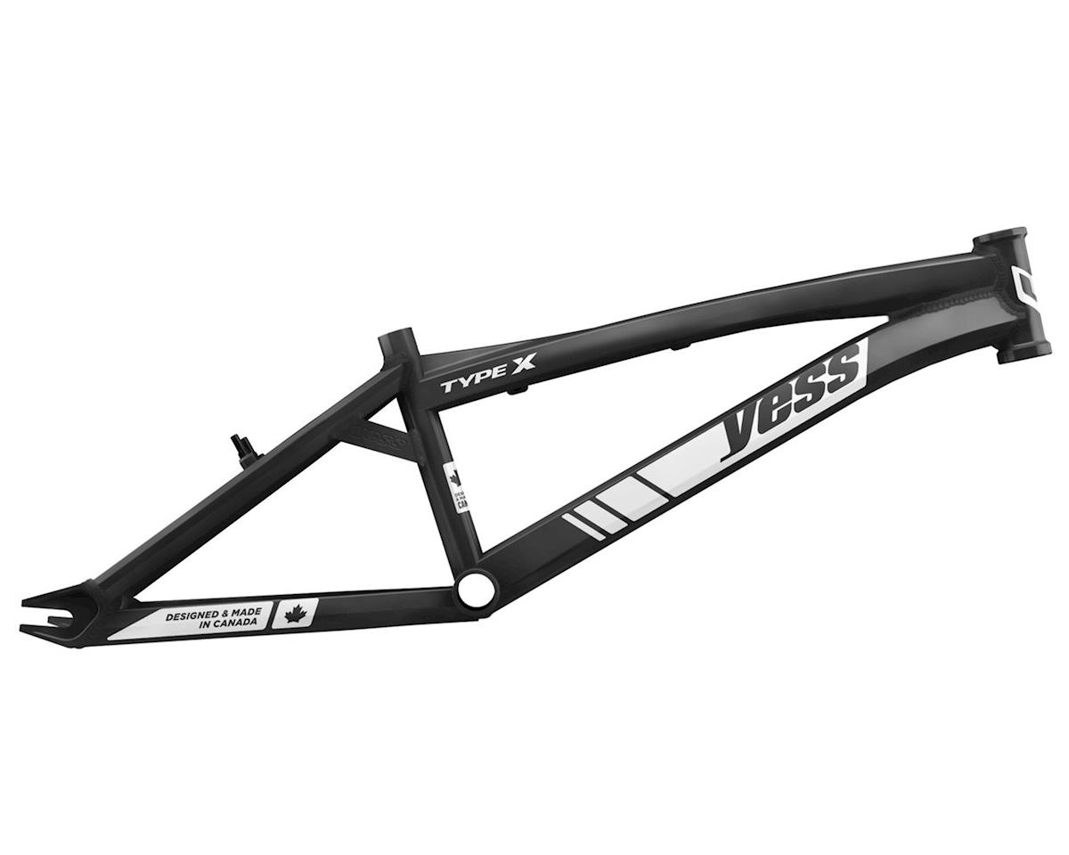 "YESS Type X 24"" Cruiser BMX Race Frame (Black)"