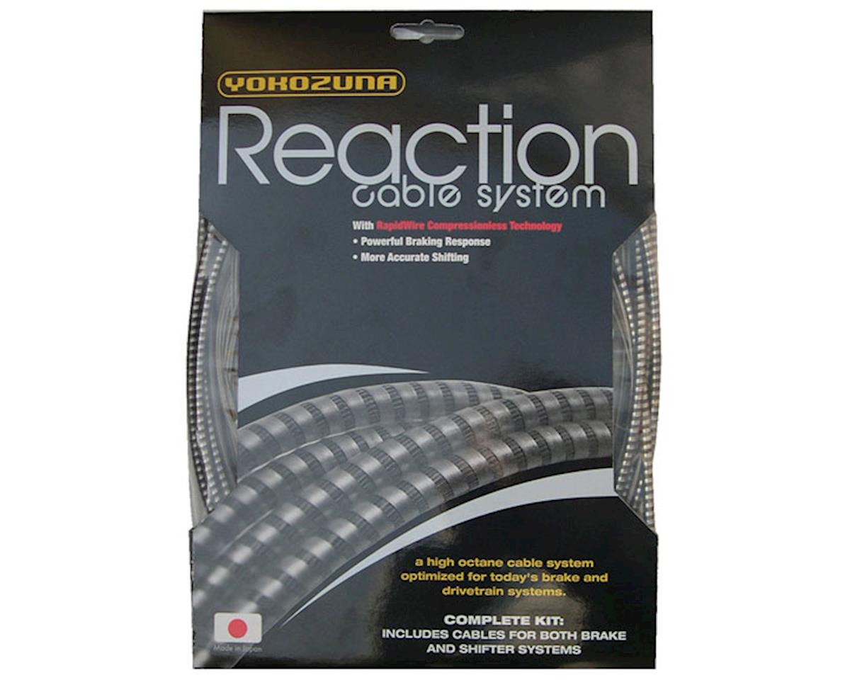 Reaction cable/casing kit, der/brake, rd/mtn - Sh/SR/C