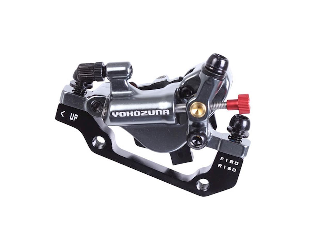 Yokozuna Motoko rear disc brake, 160mm - gray
