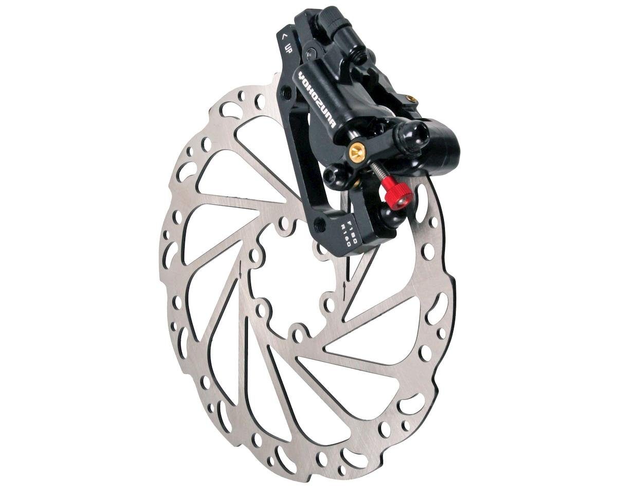 Motoko front disc brake, 160mm - black