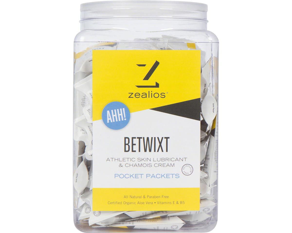 Zealios Betwixt Athletic Skin Lubricant and Chamois Cream: 10ml single use packe