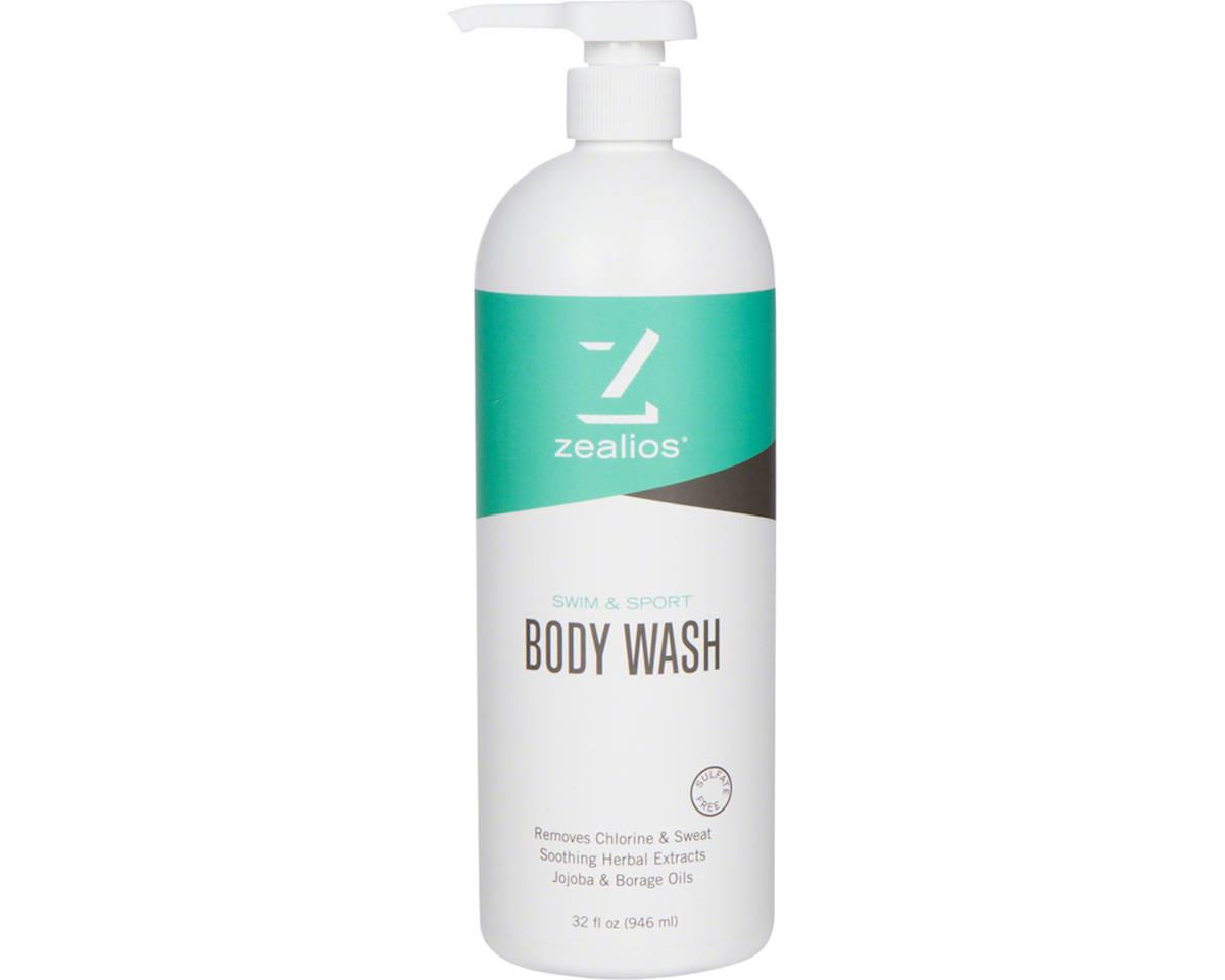Zealios Swim and Sport Body Wash: 32oz with pump