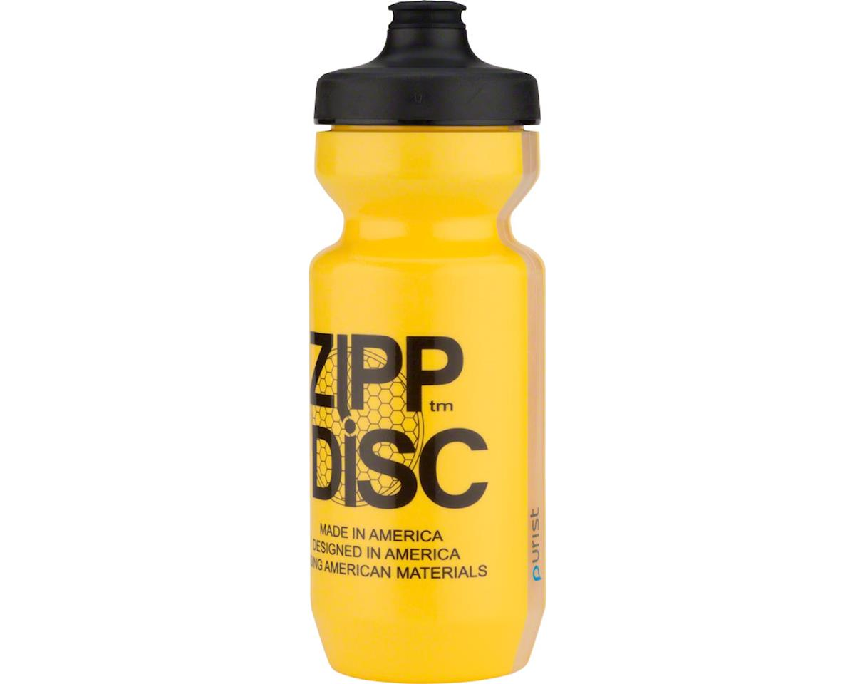 SRAM Water Bottle: Purist with Watergate by Specialized, Disc Yellow, 22oz