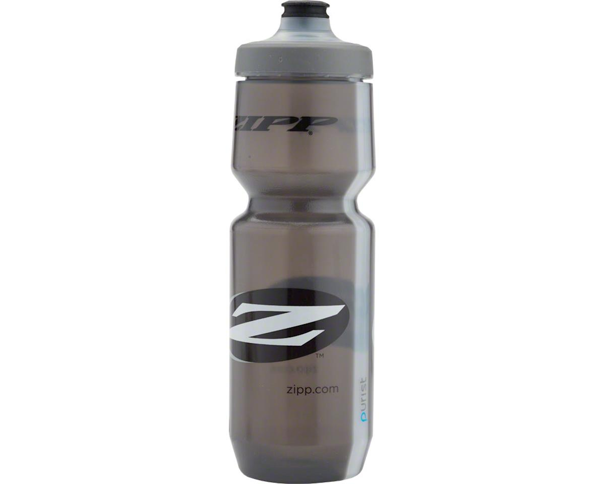 Zipp Water Bottle: Purist with Watergate by Specialized, Gray, 26oz