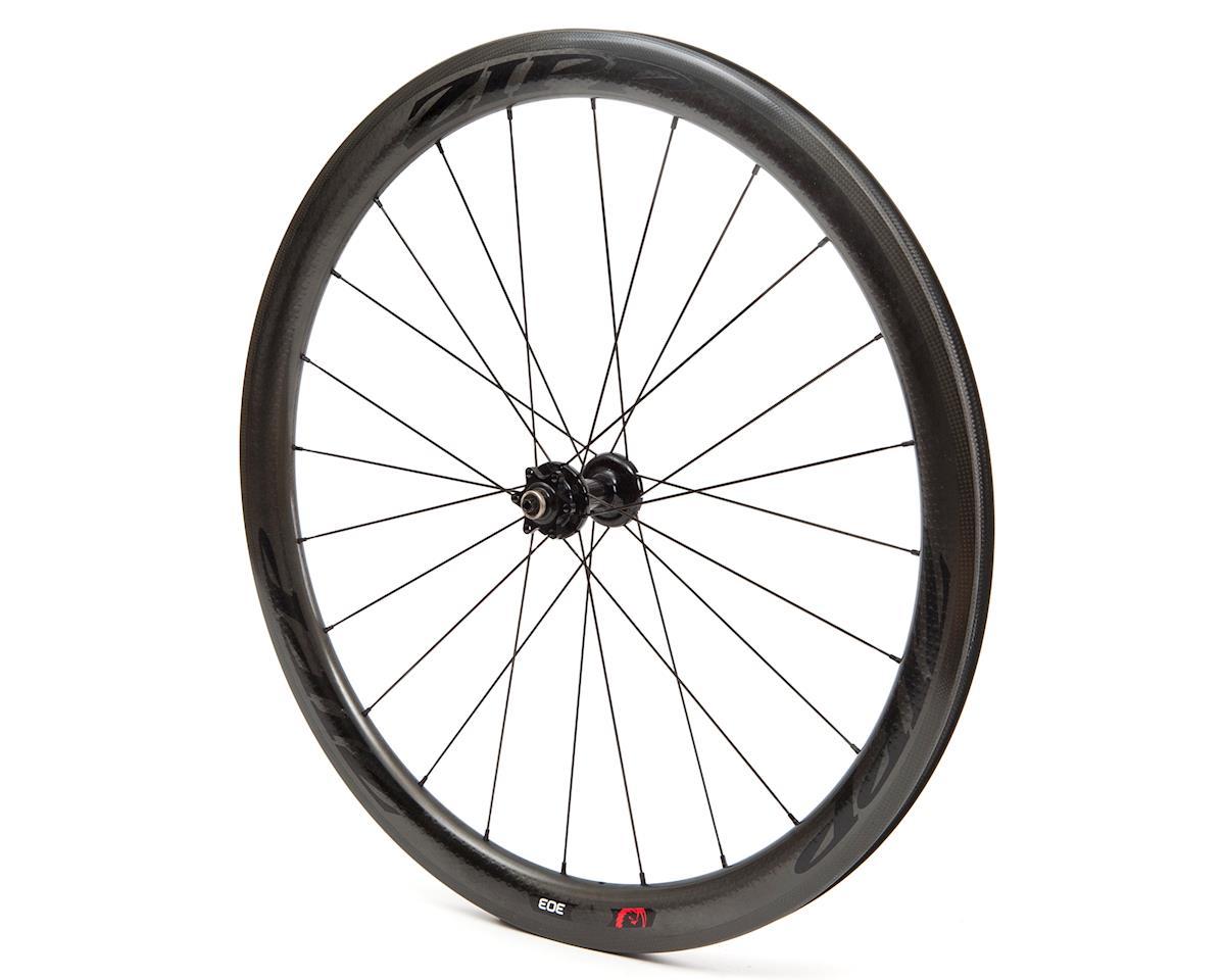 Zipp 303 Firecrest Carbon Clincher Front Wheel (Disc Brake) (Black Decal)
