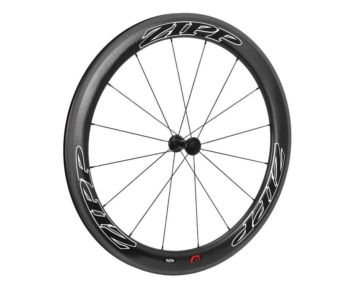 Zipp Firecrest 404 Carbon Clincher Front Road Wheel 2013 (Black)