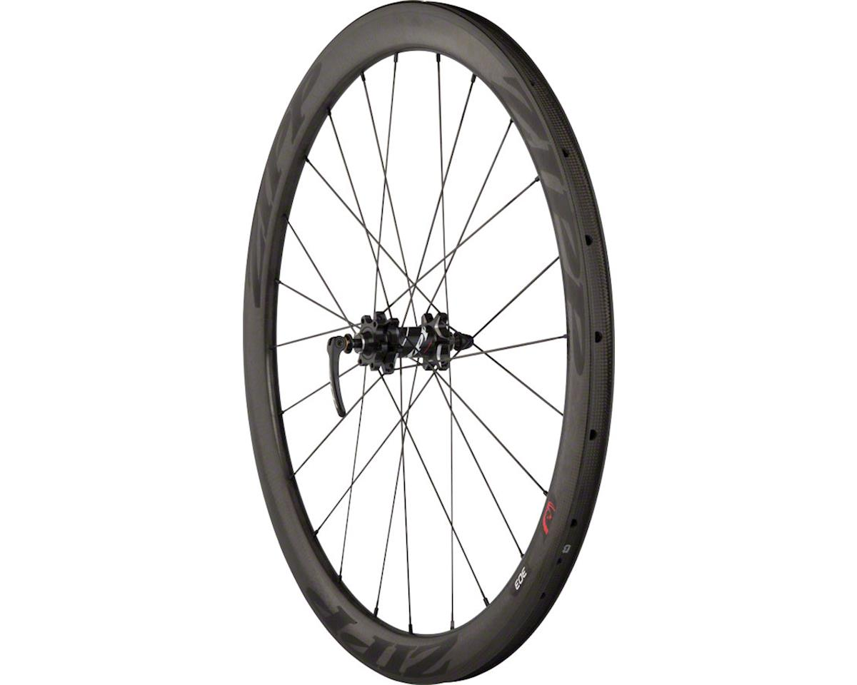 Zipp 203 Carbon Clincher 24 Spoke Rear Disc Brake Wheel (Black) (6-Bolt)