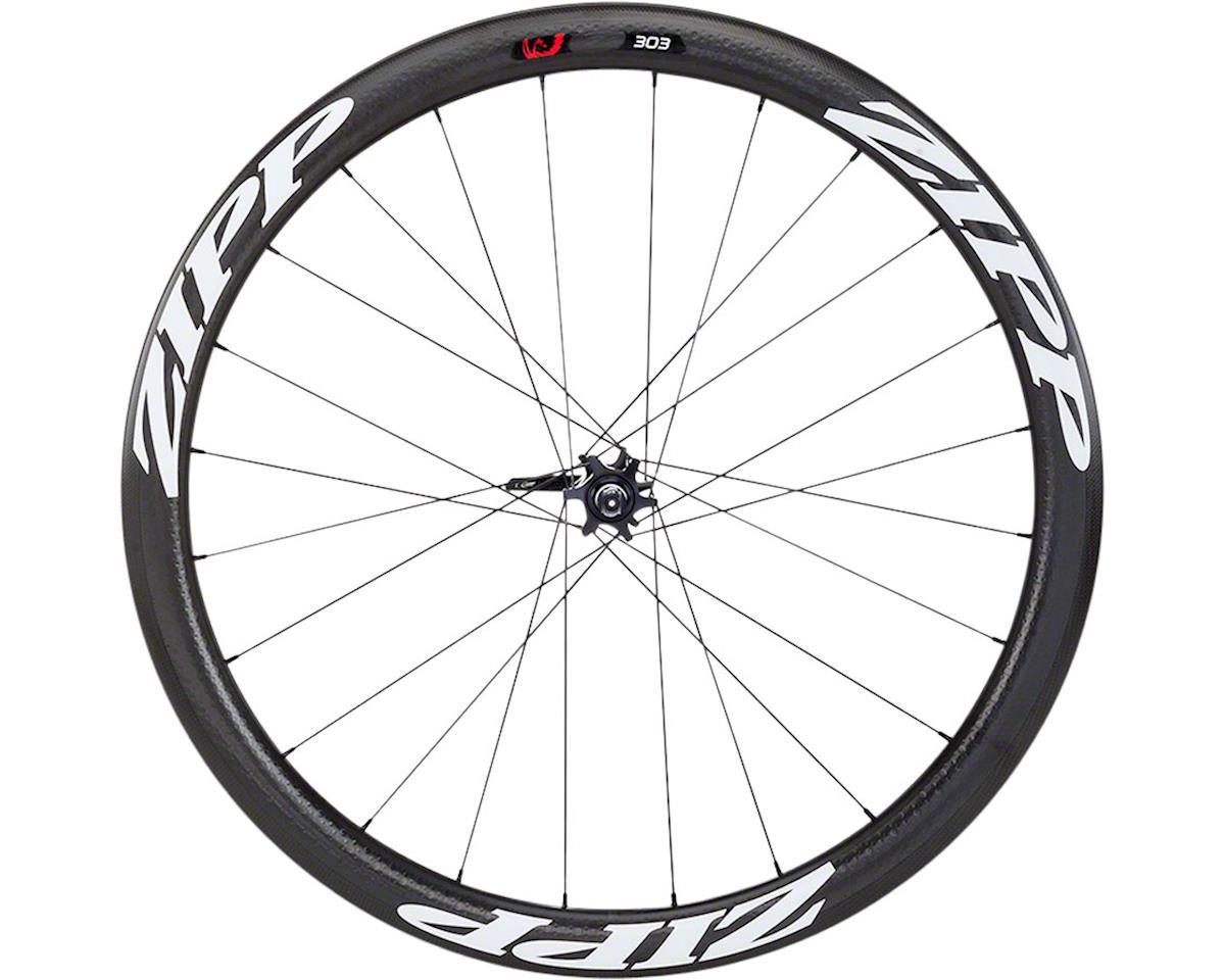 Zipp 303 Tubular Front Wheel (White Decal) (700c) (6-Bolt Disc)