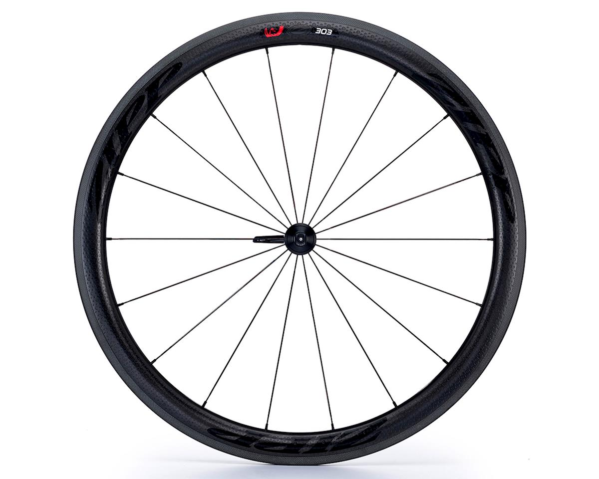 Zipp 303 Firecrest Carbon Clincher Front Wheel (Black Decal) (700c)