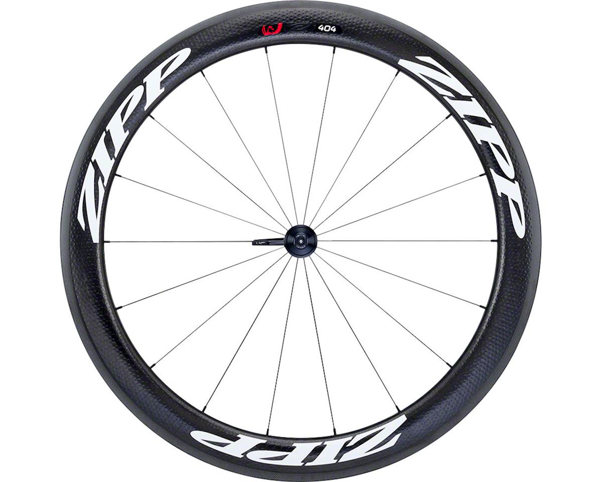 Zipp  404 Firecrest Carbon Clincher Front Wheel (White) (Rim Brake)