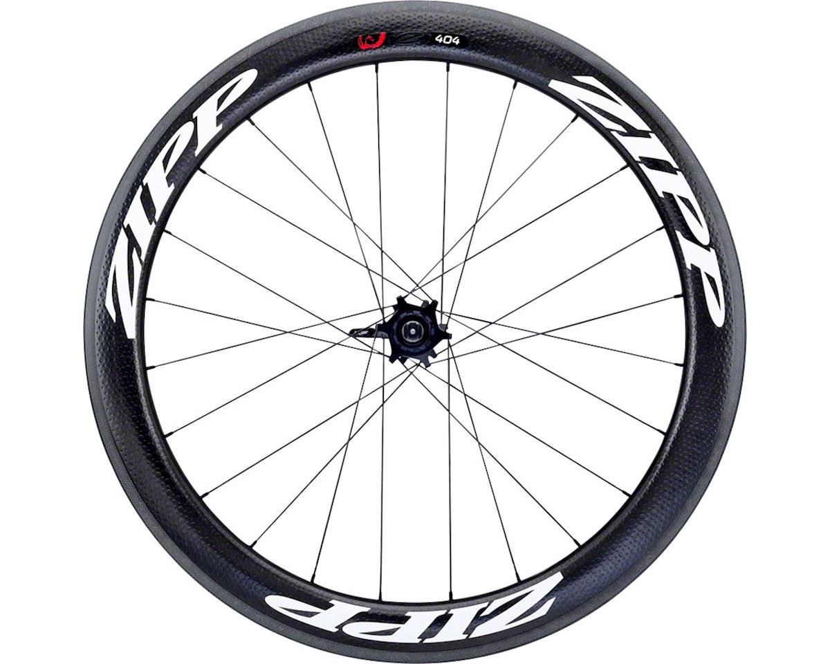 Zipp 404 Firecrest Carbon Clincher Rear Wheel, 700c, 24 Spokes, 10/11 Speed SRAM