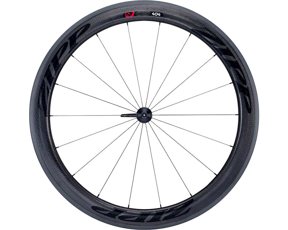 Zipp  404 Firecrest Carbon Tubular Front Wheel (Black) (Rim Brake)
