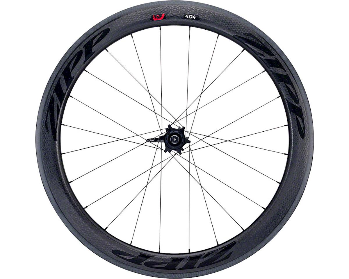 Zipp  404 Firecrest Carbon Tubular Rear Wheel (Black) (Rim Brake)