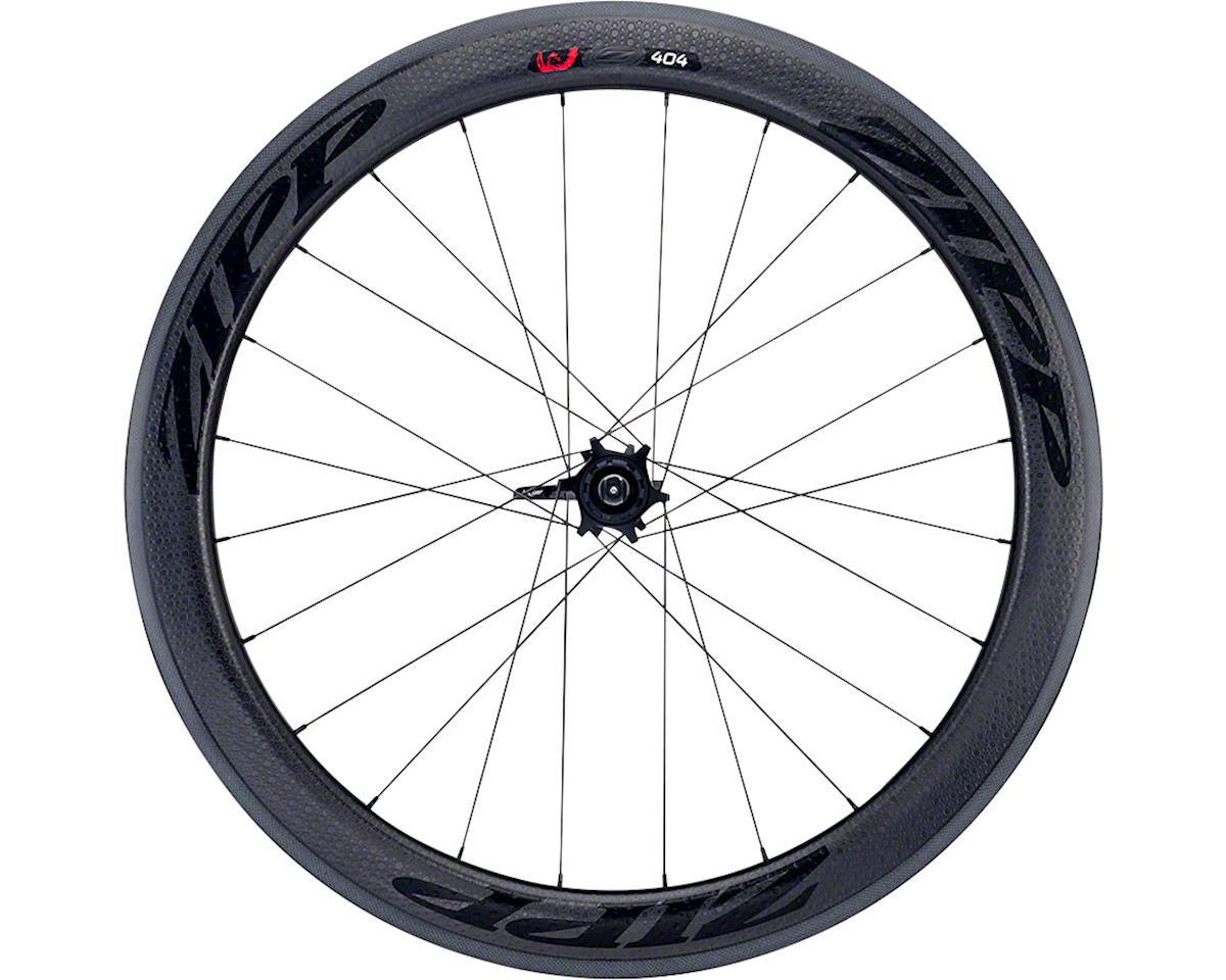 Zipp  404 Firecrest Carbon Tubular Rear Wheel (Black) (Rim Brake)