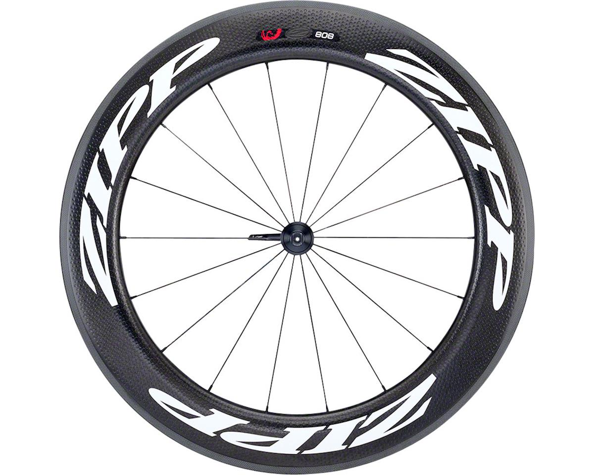 Zipp  808 Firecrest Carbon Tubular Front Wheel (White) (Rim Brake)