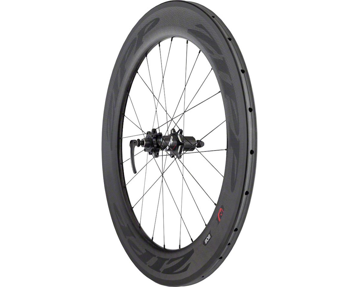 Zipp  808 Firecrest Carbon Tubular Rear Wheel (Black) (Disc Brake)